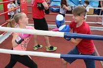 Sporťáček - festival sportu pro děti na zlínském stadionu mládeže