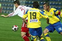 Fotbalisté Zlína proti Třinci