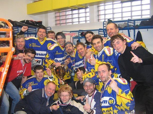 Vítězný tým TJ Slovan neslyšící Zlín.