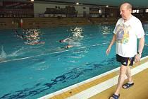 Šéftrenér zlínského plaveckého oddílu Petr Přikryl.