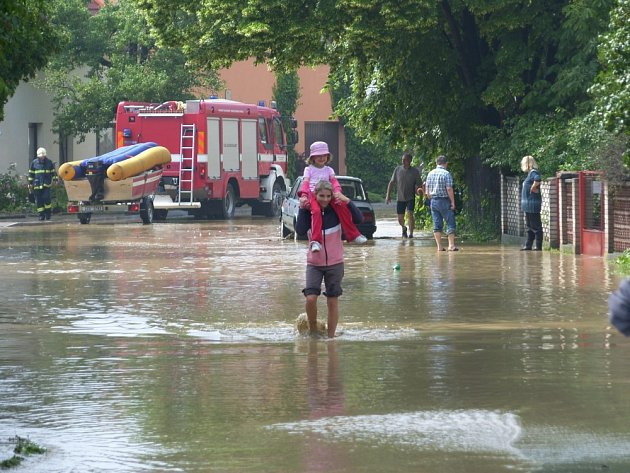 Povodeň ve Zlíně