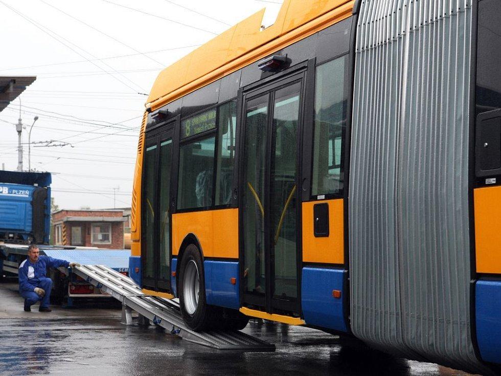 Nový zlínský trolejbus