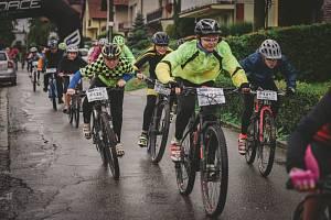 Závod horských kol v Sazovicích 2019