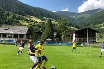 Fotbalisté Zlína zakončili týdenní herní soustředění v Rakousku porážkou s Lokomotivem Moskva 2:4n
