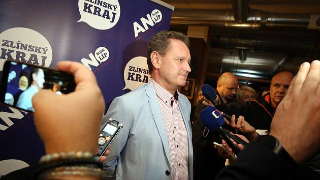 Komunální volby 2018  volební štáby. Miroslav Adámek