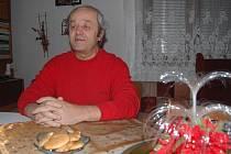 Ladislav Končický si zahrál jedno z dětí v pohádce Pyšná princezna.