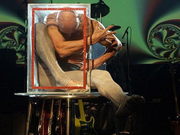 Varietní umělec Bob Divílek