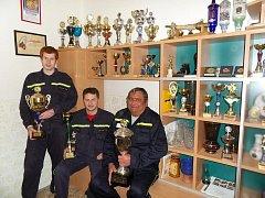 Želechovičtí dobrovolní hasiči.