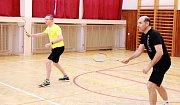 badmintonový turnaj ve Strání