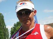 Tomáš Dlabaja, mistr světa v OB ve štafetě.