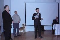 Ocenění za významný počin v oblasti cestovního ruchu získal produkt Luhačovice – Janáčkův zdroj inspirace. Přebral ji manažer Augustiniánského domu Roman Taťák (vpravo).