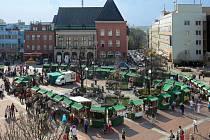Na zlínském náměstí náměstí Míru začaly tradiční Velikonoční trhy.