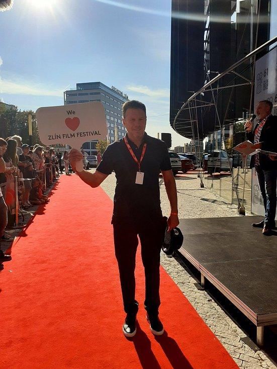 Americký filmový producent Bill Gerber na Zlín Film Festu.