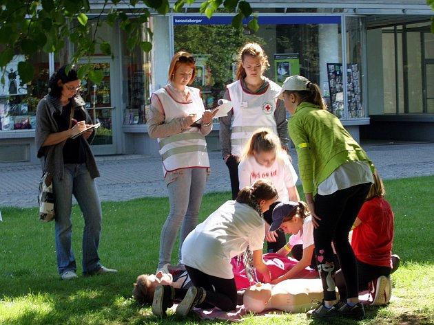 Oblastní kolo Soutěže mladých zdravotníků ve Zlíně