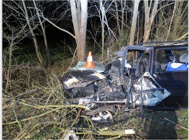 Takto vypadal vůz po nehodě.