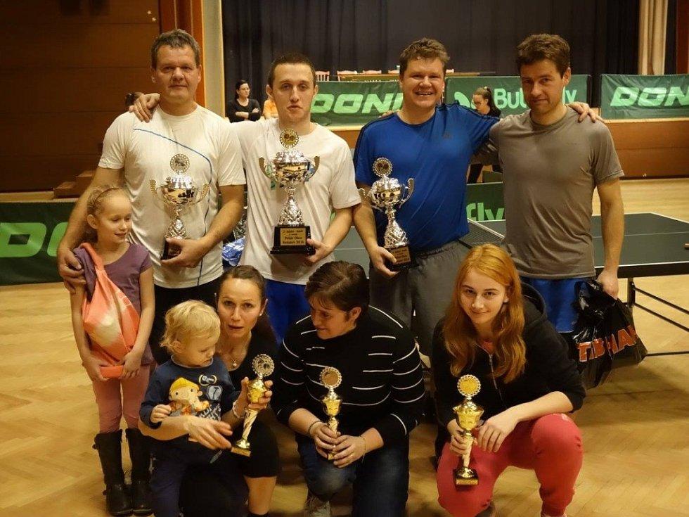 Mikulášský turnaj ve stolním tenisu v Nedašově 2016
