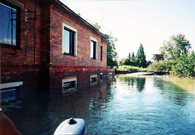 Povodně ve Zlíně v roce 1997