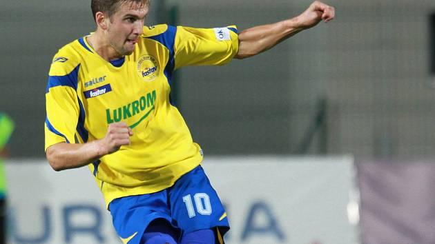 Útočník FC Fastav Zlín Tomáš Poznar.