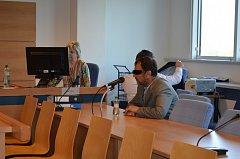 Obžalovaný kroměřížský expolicista Stanislav M. u zlínského krajského soudu