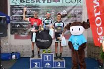 Cyklista Pavel Ovesný v Beskyd Tour 2021