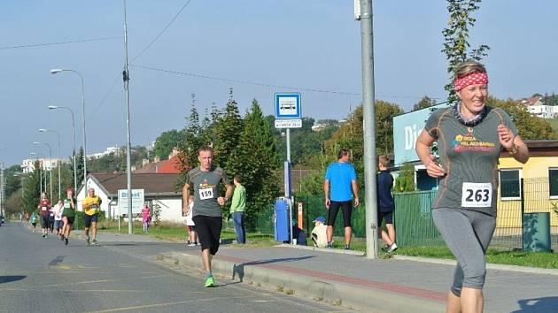 Běh na 2 míle ve Zlíně, říjen 2016