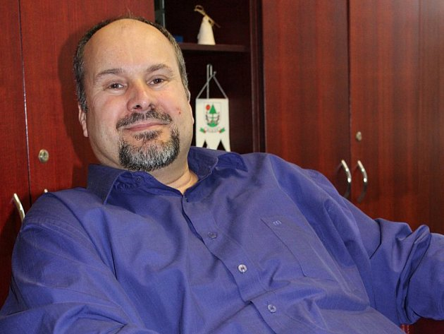 Lubomír Doležel, starosta města Fryšták.