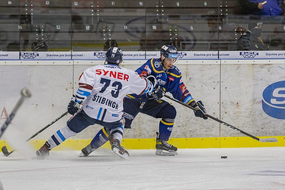Hokejisté Zlína v úterý večer na Zimním stadionu Luďka Čajky vyzvali Bílé Tygry z Liberce.