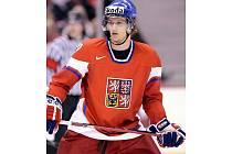 Hokejový obránce a odchovanec Zlína Michal Jordán je i klíčovým hráčem reprezentační dvacítky.