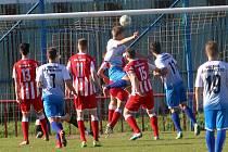 fotbal Viktoria Otrokovice - Spartak Hulín1:1