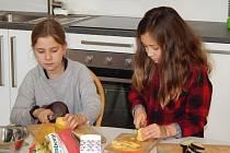 Vaření – zájmový kroužek na 11. ZŠ Malenovice realizovaný DDM Astra ve Zlíně