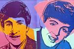 Výstava POP ART na zámku ve Zlíně. Andy Warhol Beatles