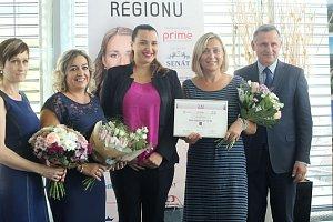 Vyhlášení soutěže žena regionu 2018 na krajském úřadě ve Zlíně. Marcela  Bradová 224ccda7db