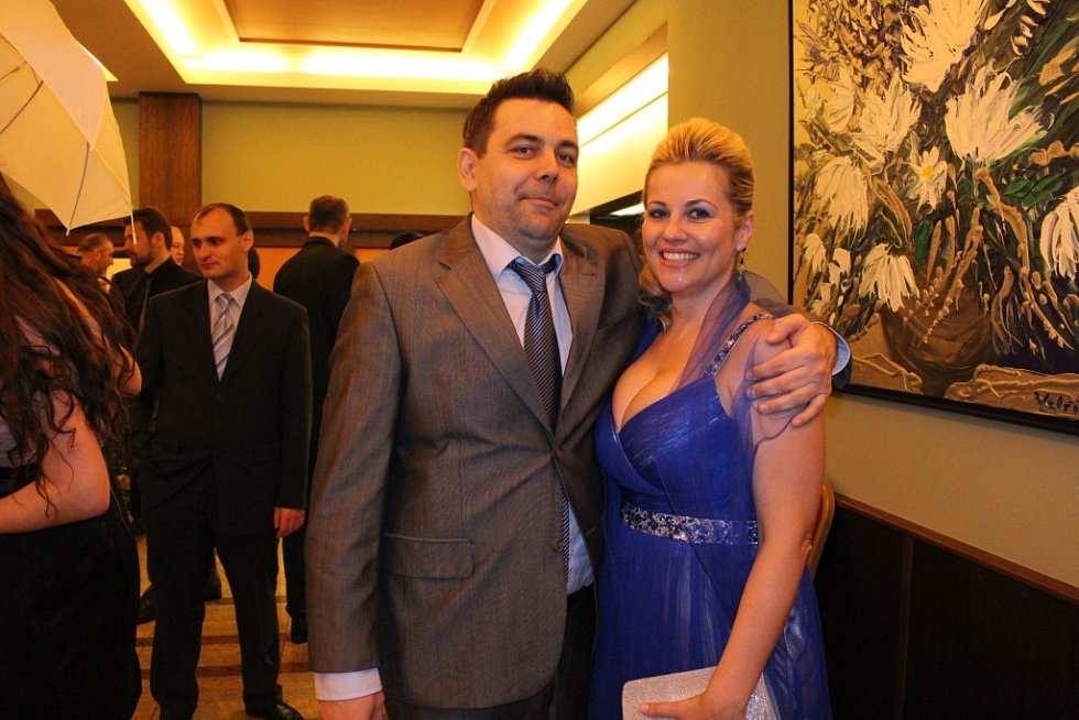 Na Sportovním plese v hotelu Baltaci Atrium bavil hosty Zdeněk Izer