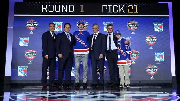 Filip Chytil se stal členem New Yorku Rangers