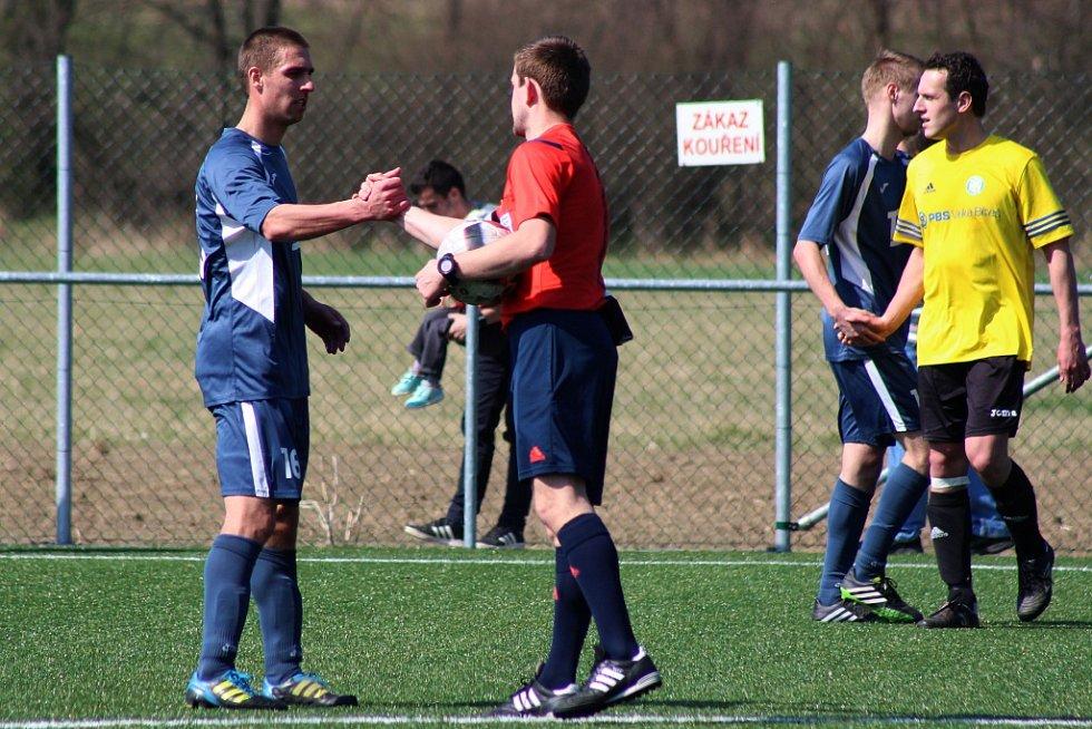 Fotbalisté Slavičína porazili Velkou Bíteš 2:1.