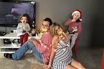 Rodina Milana a Silvie Zvonkových