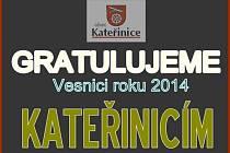 Kateřinice - vesnice roku 2014
