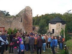 V sobotu 30. června 2018 se na hradě Lukov konala Strašidelná prohlídka. Navštívilo ji více než tisíc lidí.