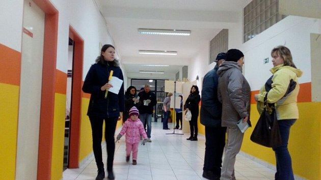 1. kolo prezidentských voleb na Zlínsku