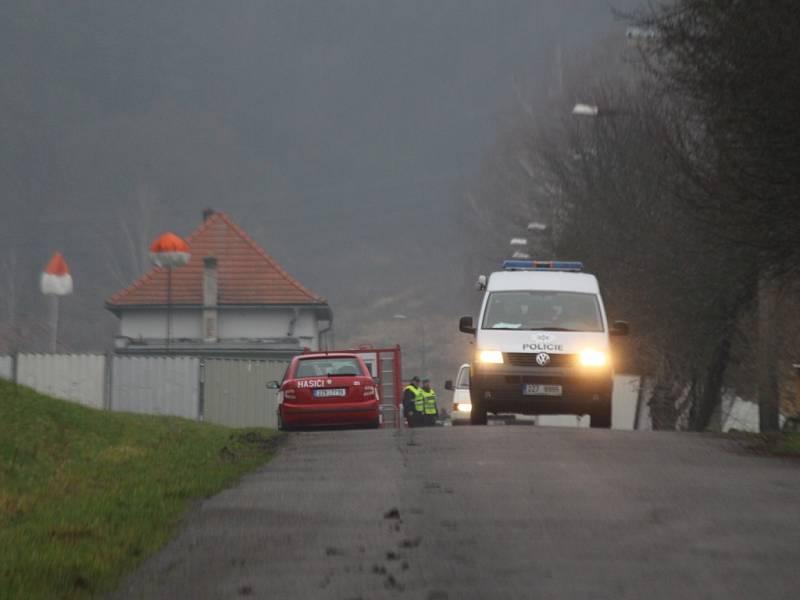 Prosinec 2014. Další detonace ve Vrběticích vyhnaly obyvatele z jejich domovů
