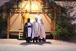 Živý Betlém v Luhačovicích na Boží hod Vánoční