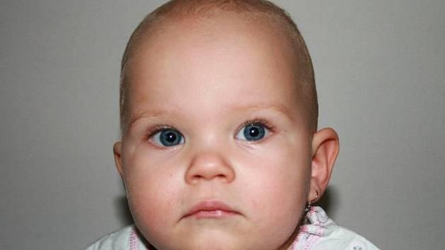 Eliška Kunetová, 18. 10. 2006, porodní míry: 2,45 kg, 46 cm, Sazovice