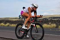 Helena Kotopulu v Havajském Ironmanu 2017.