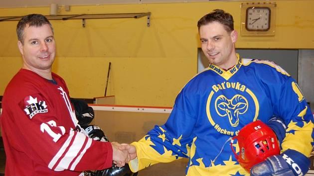 Výběr kanadských letců GF (Geilenkirchen Flyers) sehrál ve Zlíně tři přátelská utkání.