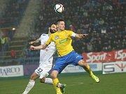 1. FC Slovácko - Jablonec. Ilustrační foto.