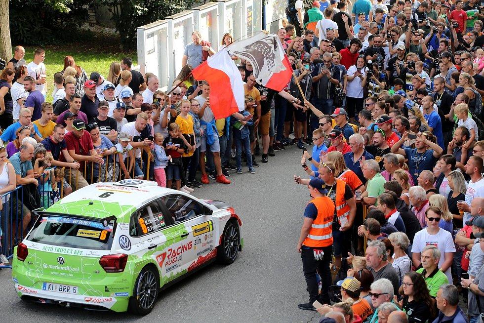 Barum Czech Rally Zlín 2019. Start