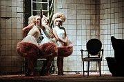 Hra Idiot v Městském divadle ve Zlíně.