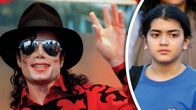 Blanket už nechce nosit jméno, které mu dal otec Michael Jackson.