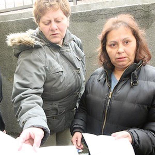 Sociálně slabším občanům z Chomutova se ulevilo, exekutor včera nepřišel.