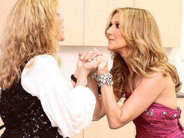 Na setkání sfamózní kanadskou zpěvačkou Celine Dion bude Lenka dlouho vzpomínat.
